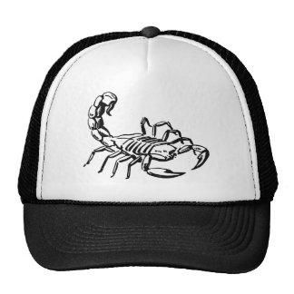 Escorpión Gorras