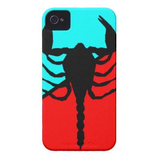 Escorpión iPhone 4 Case-Mate Cárcasas