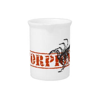 Escorpión Jarras De Beber