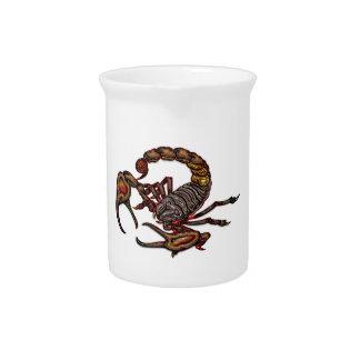 Escorpión Jarrones