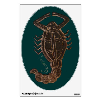 Escorpión la etiqueta de la pared de Scorpian Vinilo Adhesivo