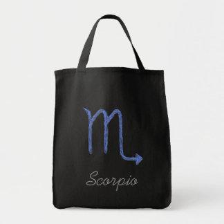 Escorpión. Muestra de la astrología del zodiaco. A Bolsas De Mano