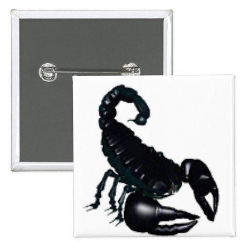 Escorpión Pins