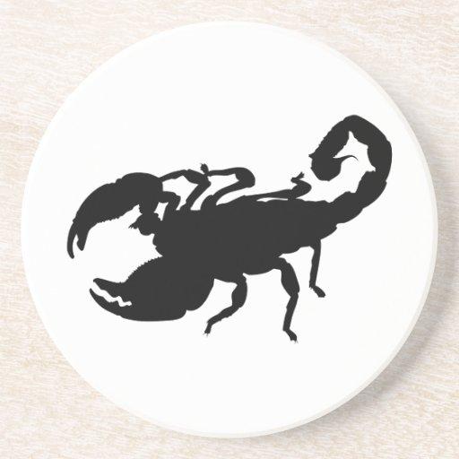 Escorpión Posavasos Cerveza