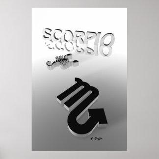 Escorpión Póster