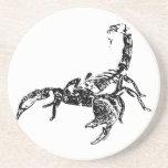 Escorpión - práctico de costa posavasos personalizados
