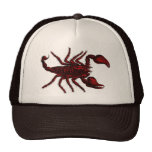 Escorpión rojo - gorra #2