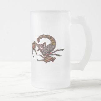 Escorpión Taza De Cristal