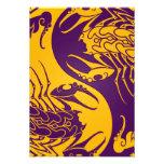 Escorpiones amarillos y púrpuras de Yin Yang Comunicados Personales