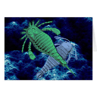 Escorpiones de mar tarjeta pequeña