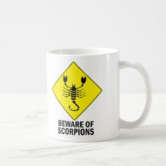 Escorpiones Taza De Café