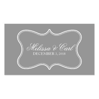 Escort Card | Featured Double-Sided Standard Business Cards (Pack Of 100)