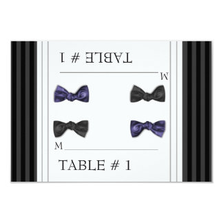 Escort Table Number Cards