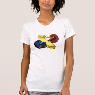 Escote redondo de las señoras de la sociedad de Ca Camisetas