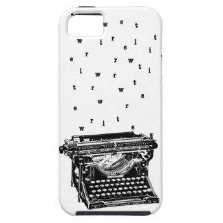 Escriba caja de la máquina de escribir iPhone 5 carcasas