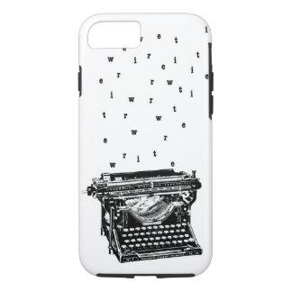 Escriba/caja de la máquina de escribir funda iPhone 7