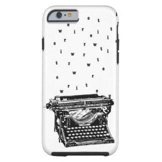 Escriba/caja de la máquina de escribir funda para iPhone 6 tough