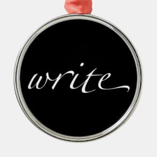 Escriba Adorno De Navidad