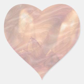 Escriba en sombra multicolora de la luz de la imag calcomanías corazones personalizadas