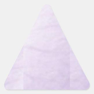 Escriba en sombra multicolora de la luz de la imag calcomanías triangulos personalizadas