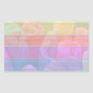 Escriba en sombra multicolora de la luz de la rectangular altavoz