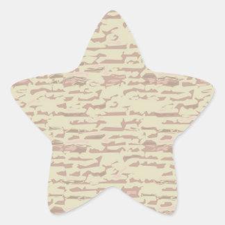 Escriba en sombra multicolora de la luz de la pegatina forma de estrella personalizadas