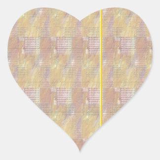 Escriba en sombra multicolora de la luz de la calcomanía corazón personalizadas