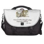 Escriba encendido dice a Jane Austen Bolsas Para Ordenador