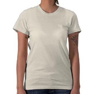 Escriba encendido camisetas