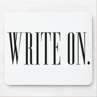 Escriba encendido (Ver 1) Mouse Pads