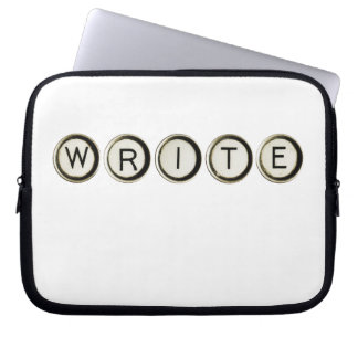 Escriba la manga del ordenador portátil de las lla manga portátil
