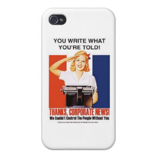 Escriba lo que le dicen iPhone 4 cárcasa
