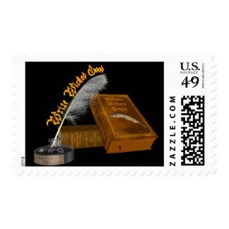 Escriba los buenos sellos traviesos