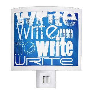 Escriba; Rayas azules reales