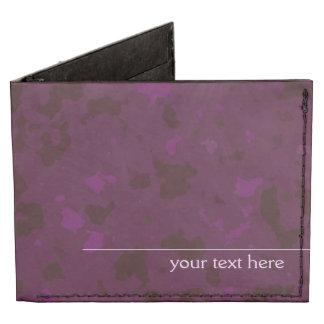 Escriba sus los propios (la púrpura) billeteras tyvek®