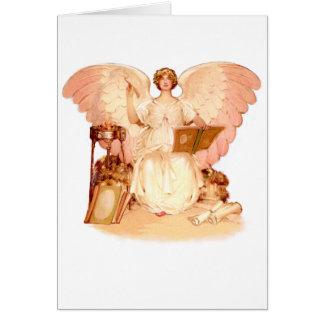 Escribano del ángel felicitacion