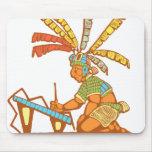 Escribano maya #1 tapetes de ratón