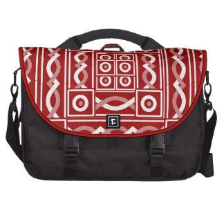 Escribano tribal del moho bolsas para portatil