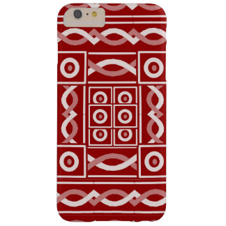 Escribano tribal del moho funda para iPhone 6 plus barely there