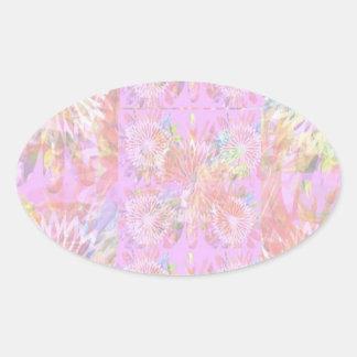Escribir-en las flores de RedRose de la Luz-sombra Pegatina Ovaladas Personalizadas