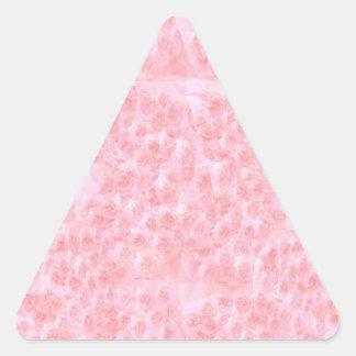 Escribir-en las flores de RedRose de la Luz-sombra Pegatina Triangulo Personalizadas