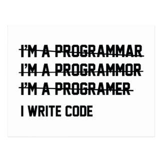 Escribo código postal