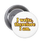 Escribo, por lo tanto estoy pin