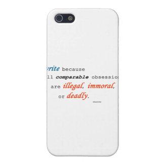 Escribo porque… iPhone 5 carcasas