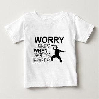 escrima Design Baby T-Shirt