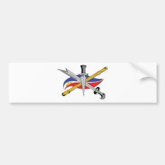 escrima-logotipo-transparente etiqueta de parachoque