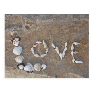 Escrito en amor postales