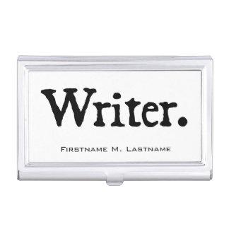 Escritor Cajas De Tarjetas De Negocios