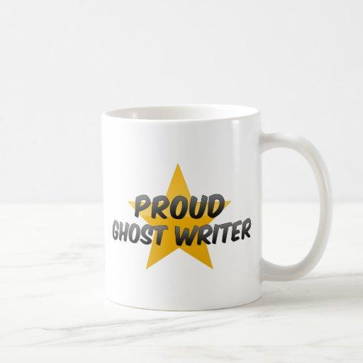 Escritor de fantasma orgulloso taza