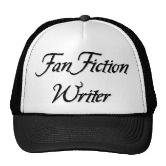 Escritor de la ficción de fan gorro